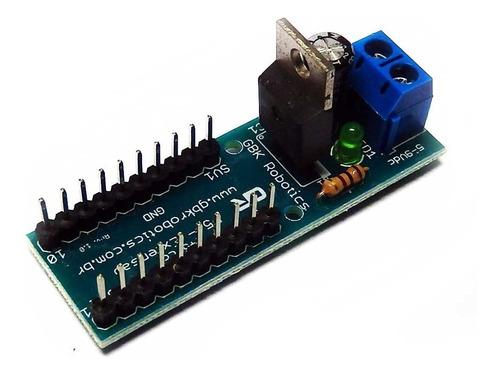 modulo extensão p5 gbk robotics arduino