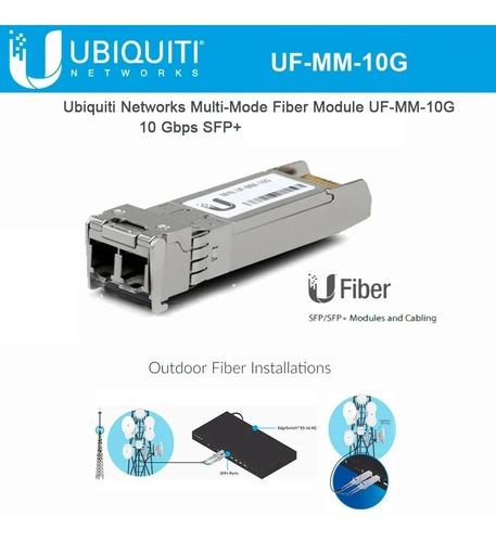 modulo fibra transceiver ubiquiti uf-mm-10g 300m sfp