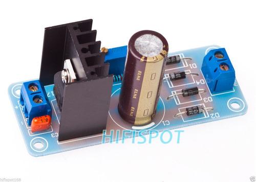 modulo fuente de poder ajustable lm317