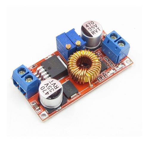 modulo fuente step down xl4015 1.25-32v dc 5a ajustable