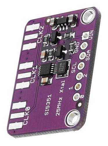 modulo generador de reloj si5351a
