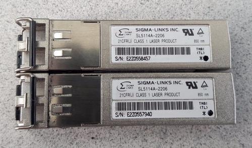 modulo gigabit transceiver sigma sl5114a