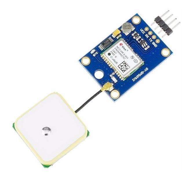 Módulo Gps Gy-gps6mv2 C/ Antena Arduino Pic Raspberry Pi