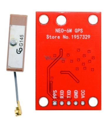 Módulo Gps Para Arduíno Drone Raspberry Orange Pi