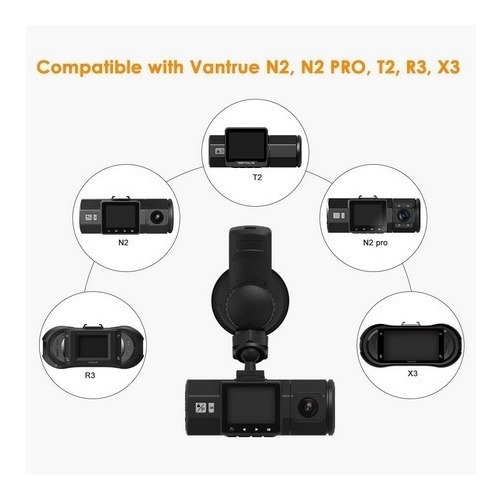 modulo gps ventosa camera filmadora veicular vantrue n2 pro