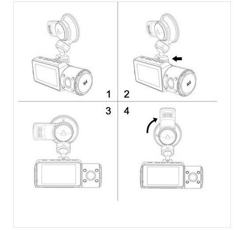 modulo gps ventosa camera filmadora veicular vantrue n4
