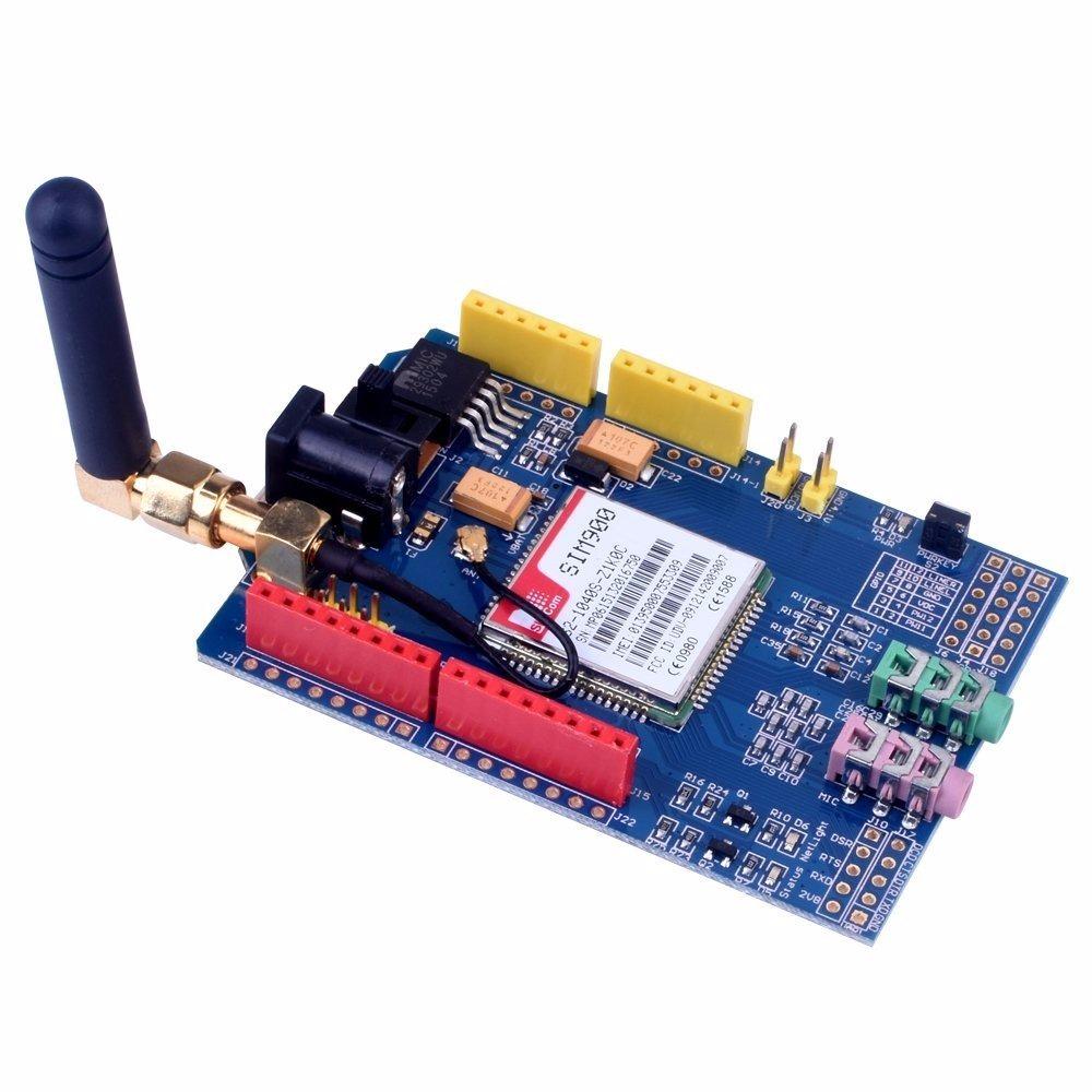Modulo Gsm Gprs Sim 900 Shield Para Arduino