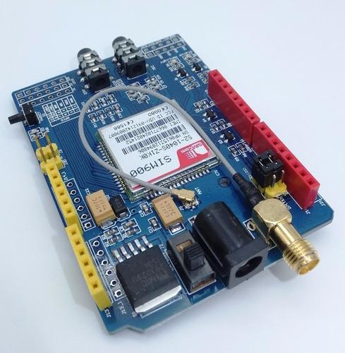módulo gsm/gprs voz datos sim900 shield arduino celular pic
