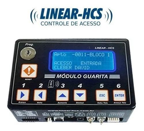 módulo guarita ip linear hcs 2015 cont. acesso completo full