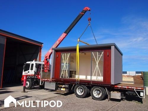 modulo habitable mejor q contenedor portátil  prefabricad