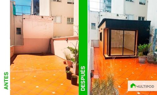 modulo habitable multipod mejor q container oficina movil