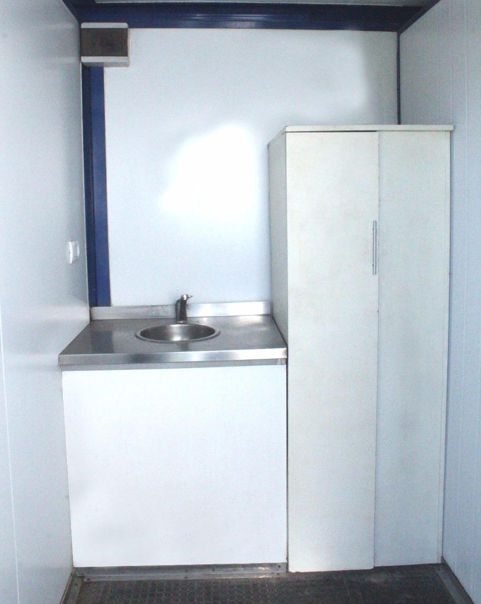 Módulo Habitacional C/ Baño Y Cocina - Obrador Oficina Móvil ...