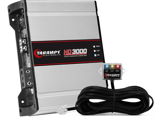 modulo hd3000 taramps 3000w rms 1 canal amplificador 1 ohm