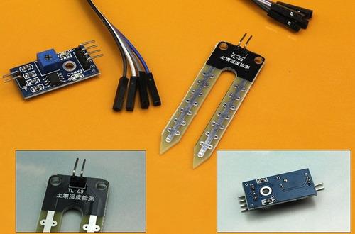 módulo higrómetro sensor humedad suelos arduino pic