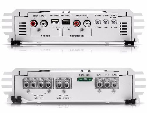 módulo hs 1500 amplificador falcon  3 canais 2 stereo 1 mono
