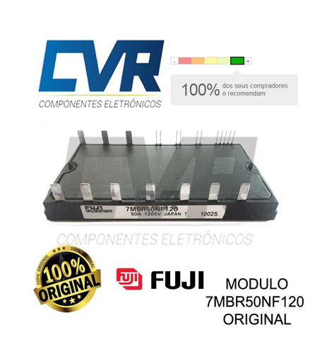 módulo igbt 7mbr50nf120  - original fuji - pronta entrega!
