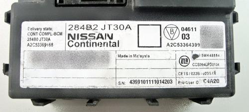 modulo imobilizador original 284b2jt30a para nissan frontier
