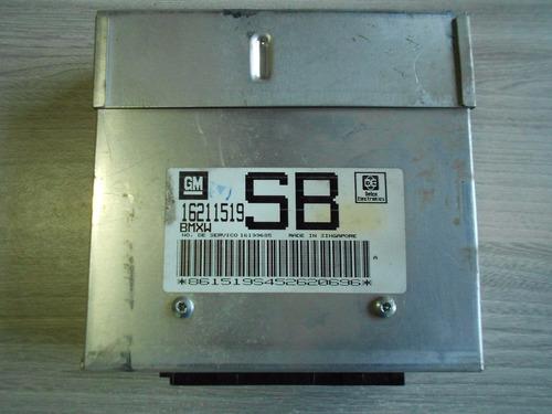 modulo injeçao central corsa efi 1.0 8v monopont sb 16211519