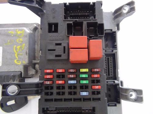 modulo injeção c/chip original fiat doblô 1.4 flex 51900925