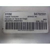 modulo  injeção celta 1.0 flex  94702331 ffrk