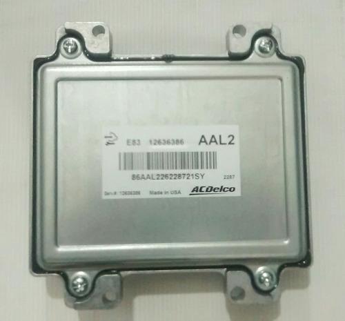 módulo injeção (contr motor) gm agile/montana 12636386