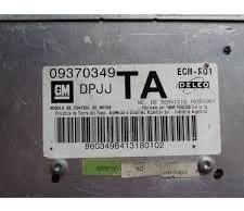 modulo injeção gm corsa 1.0 mpfi -  09370349  /  dpjj  /  ta