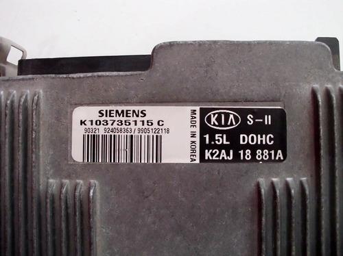 modulo injeção kia chuma sefia -  k103735115c  /  k2aj 18 881a