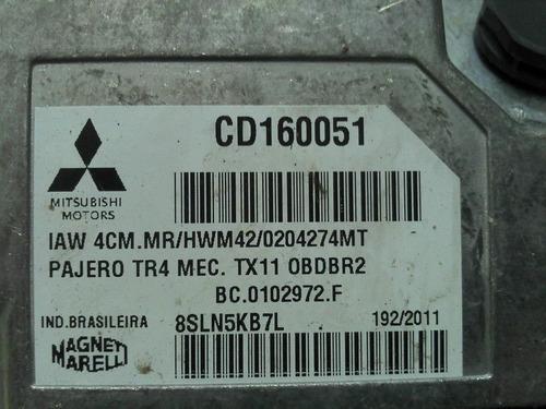 modulo injeção pajero tr4 flex  iaw 4cm.mr   cd160051