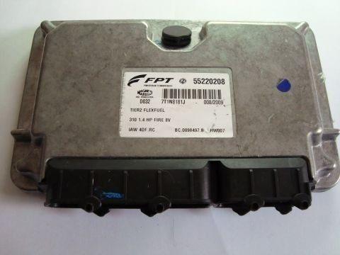 modulo injeção palio 1.4 fire 8v - iaw4df rc / 55220208