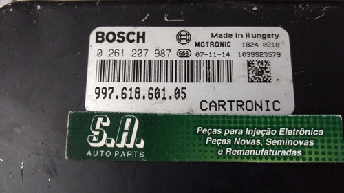 modulo injeção porsche 0261207987 / 997.618.601.05