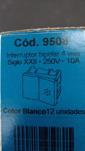 modulo interruptor bipolar 4 vias sxxii cod 9508 cambre