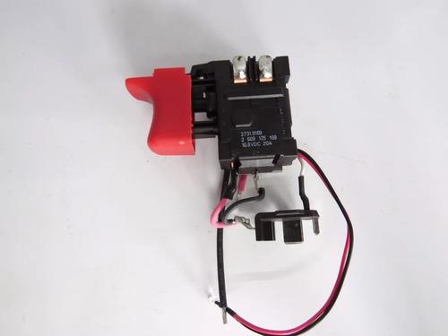 módulo/ interruptor parafusadeir gsr 120-li bosch 2609125169