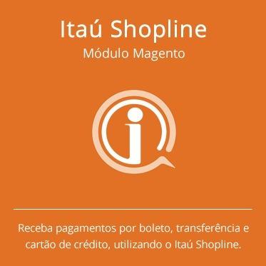 modulo itaú-shopline - magento