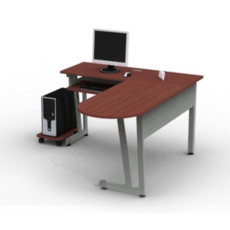 M dulo l escritorio de trabajo linea italia color caoba for Modulos de escritorio para oficina