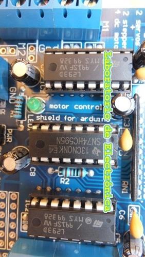 módulo l293d motor shield para arduino
