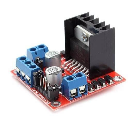 modulo l298 puente h controlador de motores arduino pic