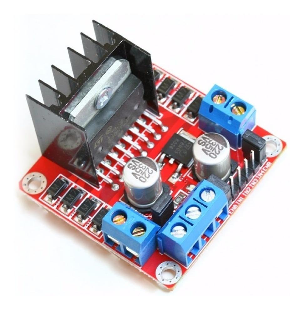 Módulo L298n Driver Control Motor Puente H Para Arduino
