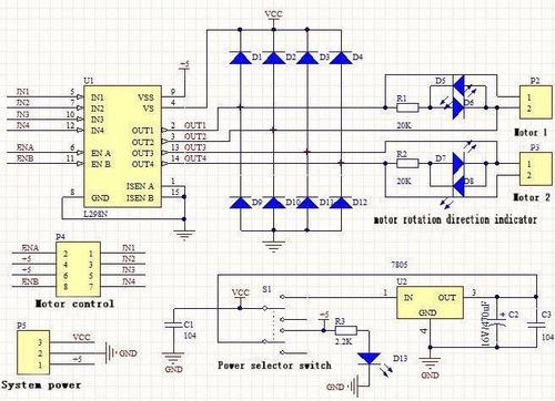 Modulo L298n Dual H Bridge Stepper Motor Driver Controller on