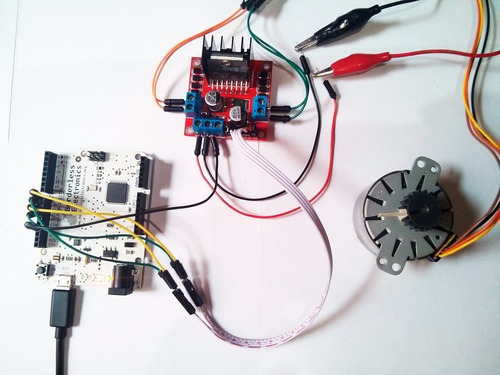 modulo l298n puente h control de motor