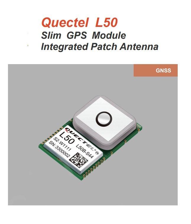 Módulo L50 Quectel  Gps Con Antena Integrada