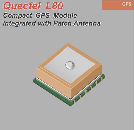 Módulo L80 Quectel Gps/ Gnss / Qzss Antena Integrada
