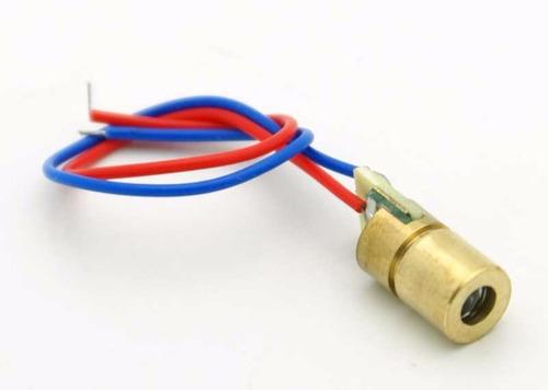 módulo laser 5v 5mw 650nm 6mm arduino pic
