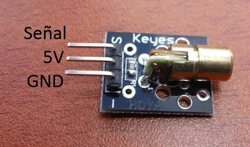 modulo laser arduino transmisor pic raspberry ky-008