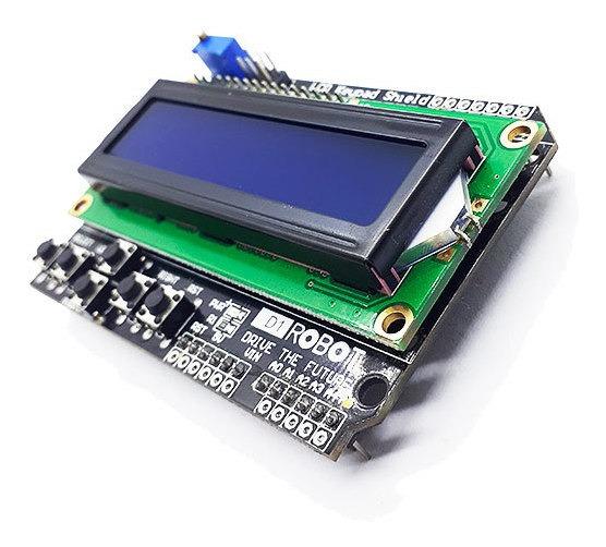 Módulo Lcd 16x2 Para Arduino Uno