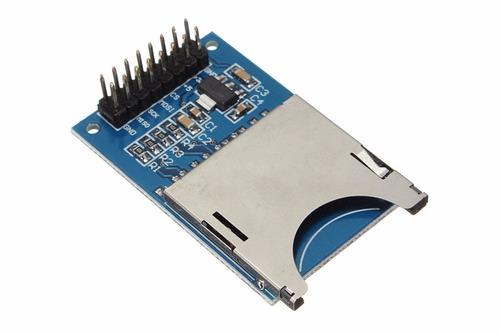 módulo lector de memoria sd para arduino/pic