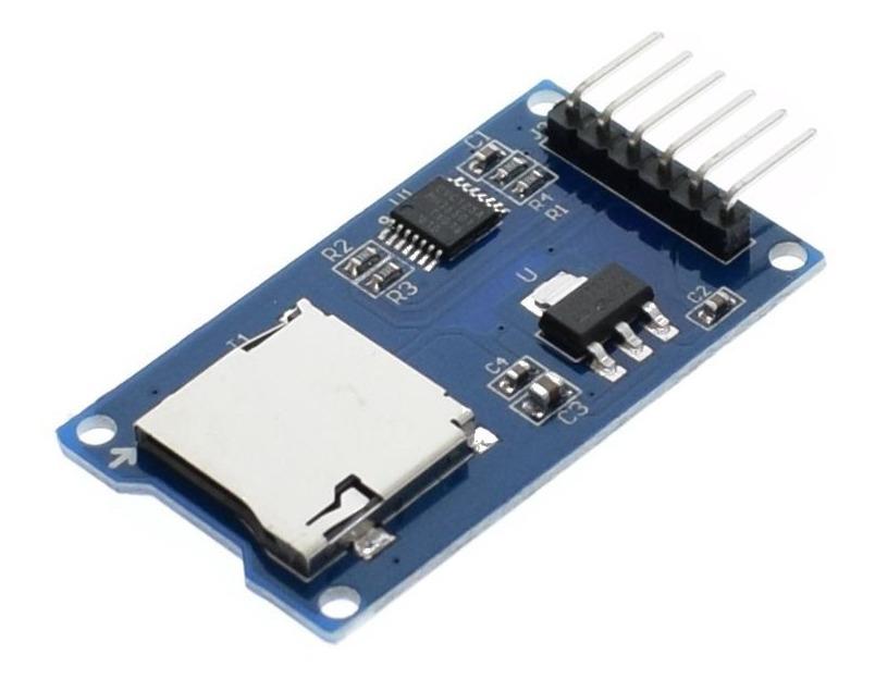 Módulo Lector De Micro Sd Para Arduino