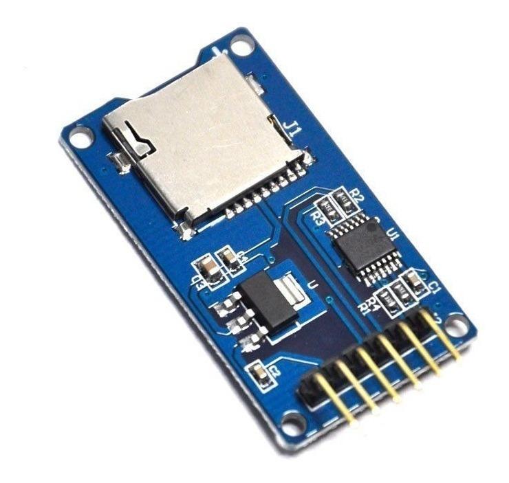 Módulo Lector De Tarjeta Micro Sd Para Arduino