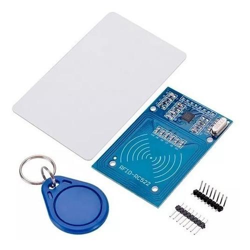 modulo lector rfid rc522 nfc tarjeta llavero arduino