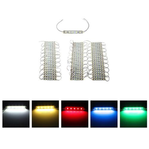 modulo led 5050 (20 piezas) rojo azul ámbar verde y blanco