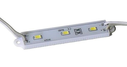 modulo led 5630 5730 + que 5050 frio calido colores 12v